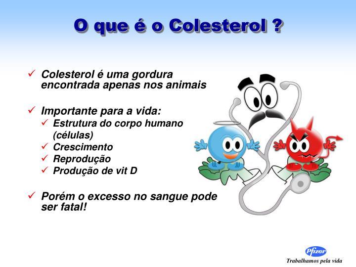 O que é o Colesterol ?