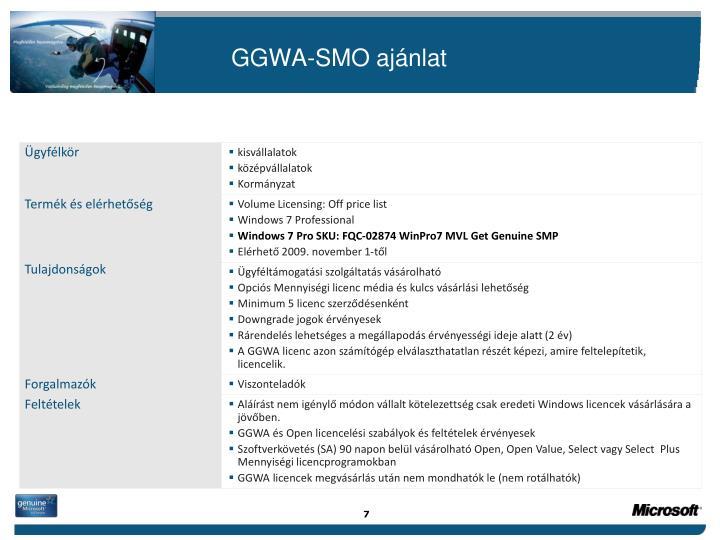 GGWA-SMO