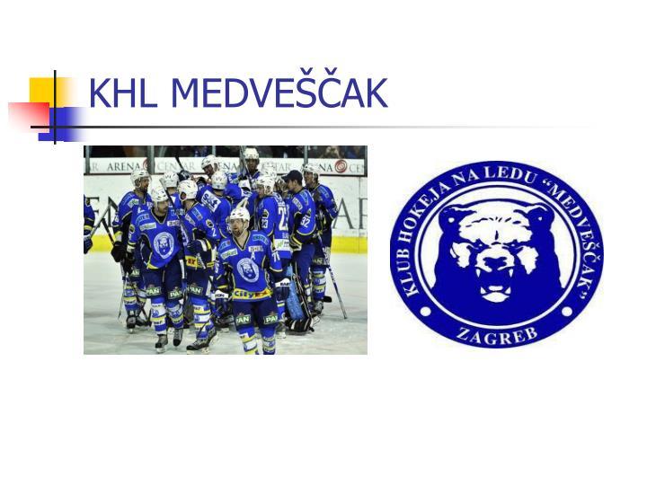 KHL MEDVEŠČAK