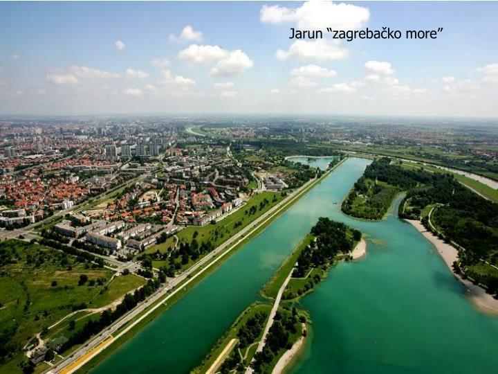 """Jarun """"zagrebačko more"""""""
