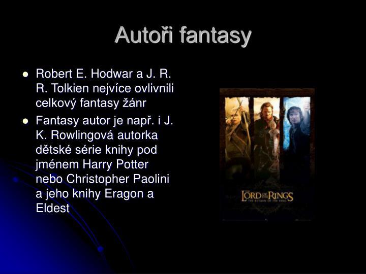 Autoři fantasy
