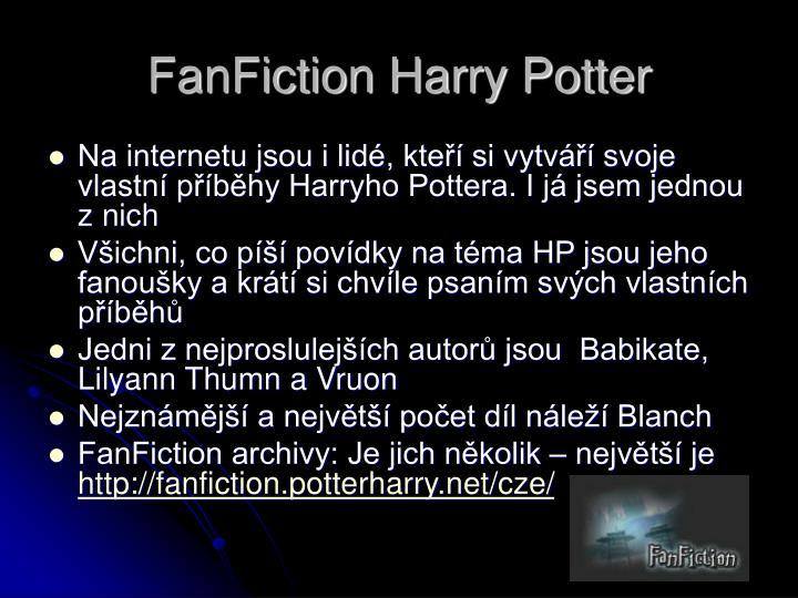FanFiction Harry Potter