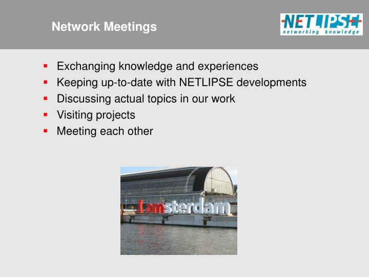 Network Meetings