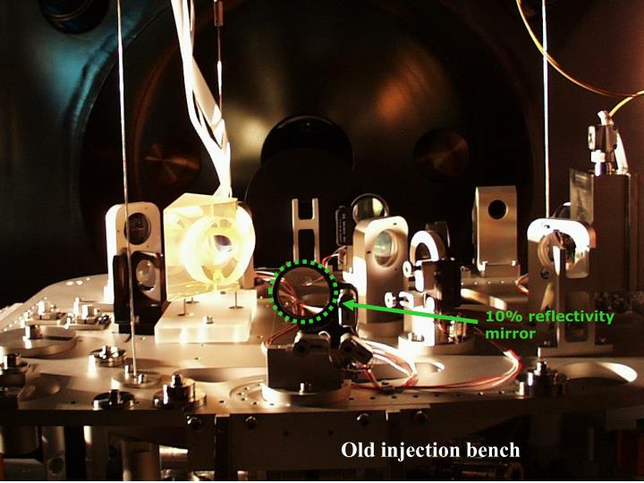 Old injection bench
