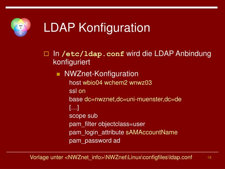 LDAP Konfiguration