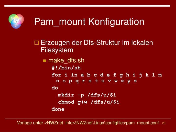 Pam_mount Konfiguration