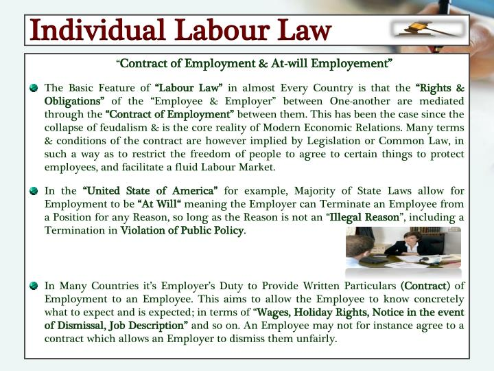 Individual Labour Law