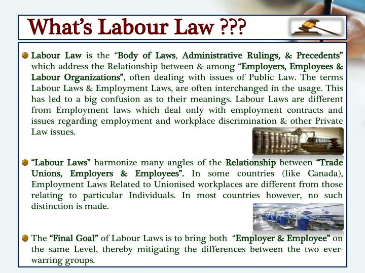 What's Labour Law ???