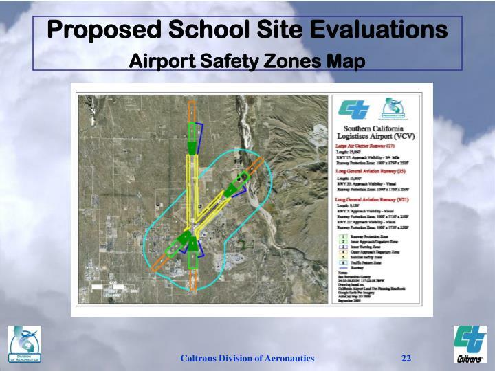 Proposed School Site Evaluations