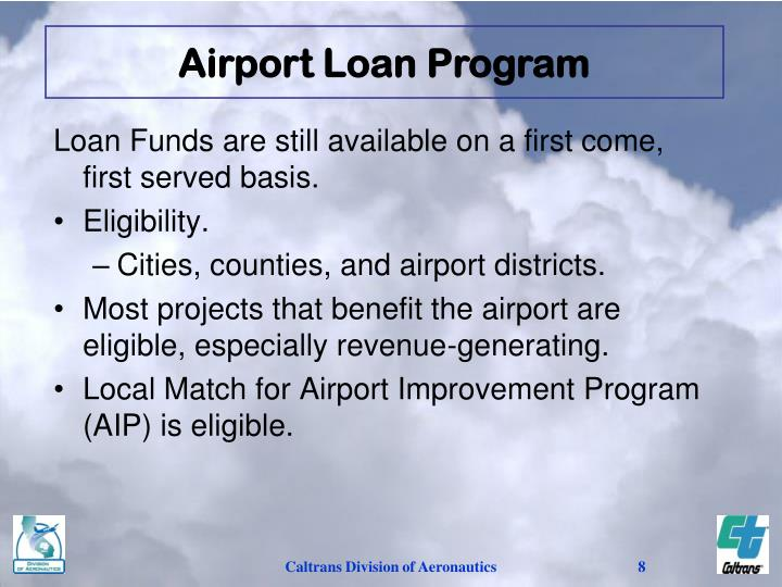 Airport Loan Program