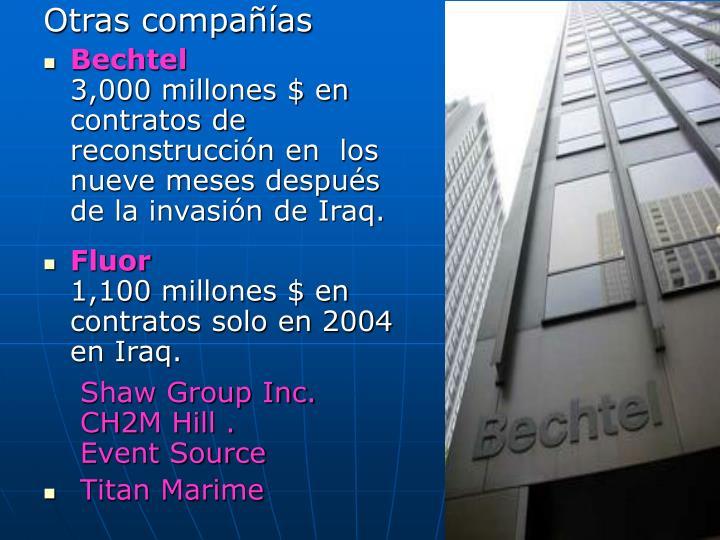 Otras compañías