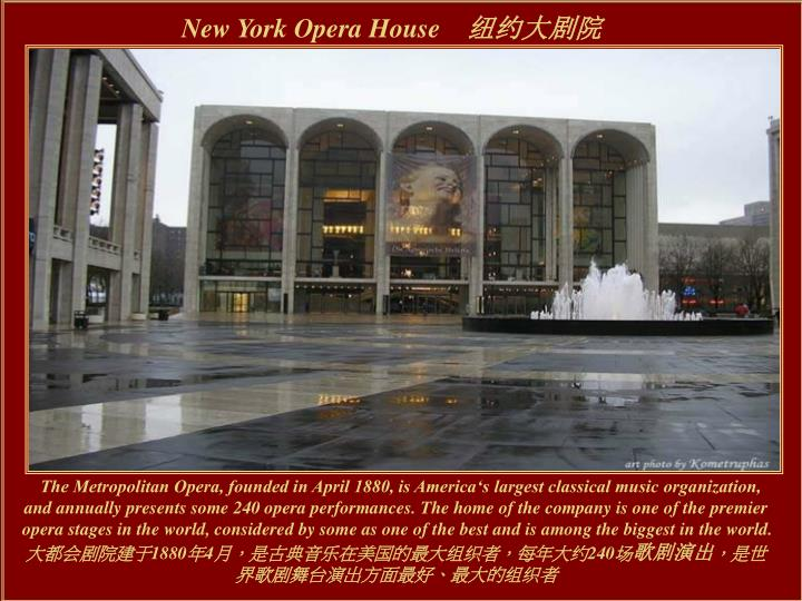 New York Opera House