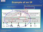 example of an ip
