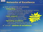 networks of excellence1