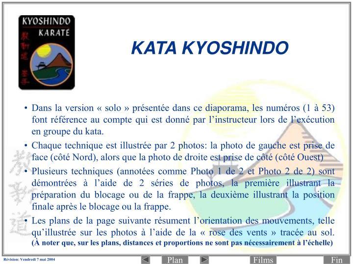 KATA KYOSHINDO