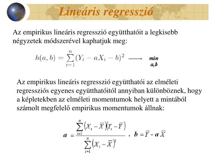 Lineáris regresszió