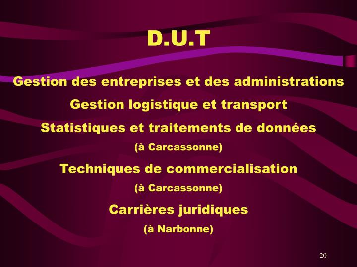 D.U.T