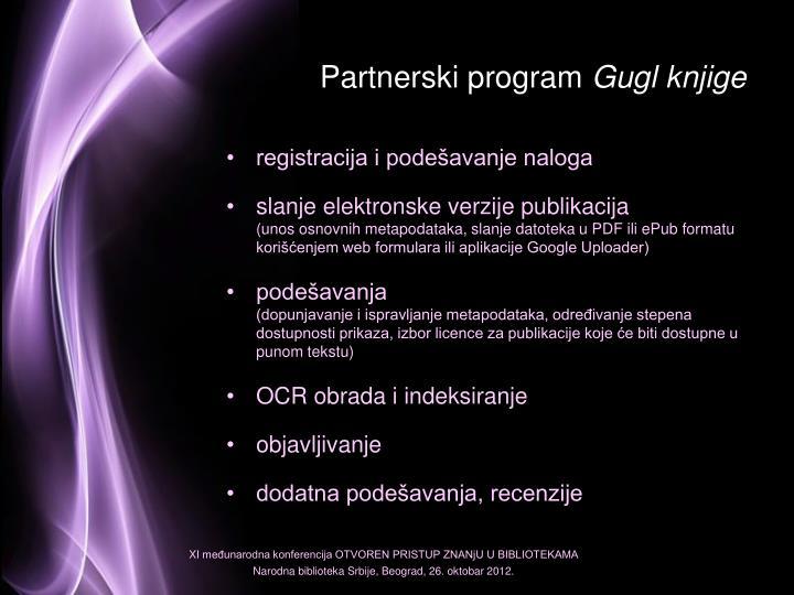 Partnerski program