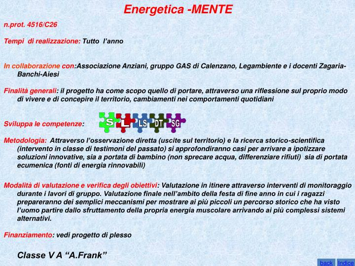 Energetica -MENTE