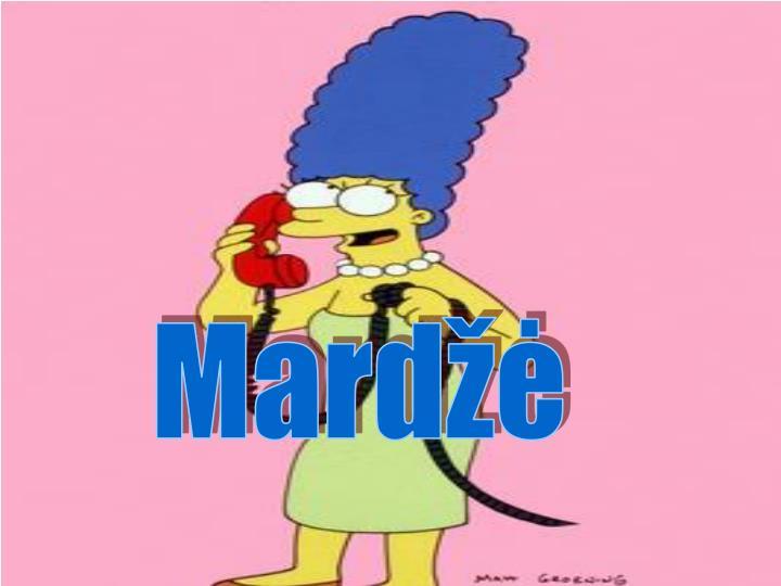 Mardžė