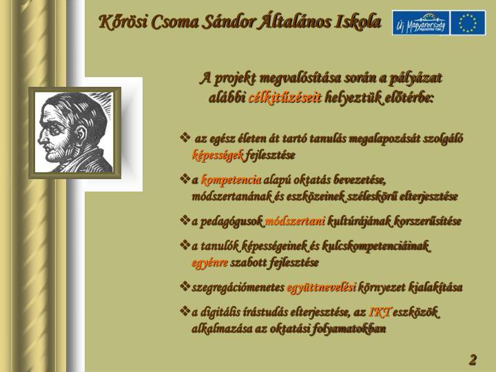 Kőrösi Csoma Sándor Általános Iskola