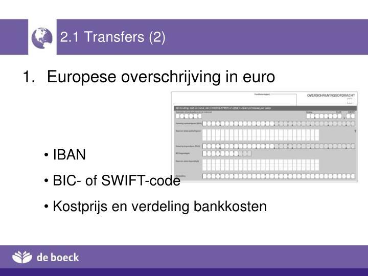 2.1 Transfers (2)