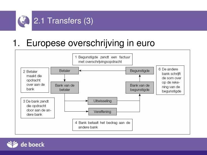 2.1 Transfers (3)