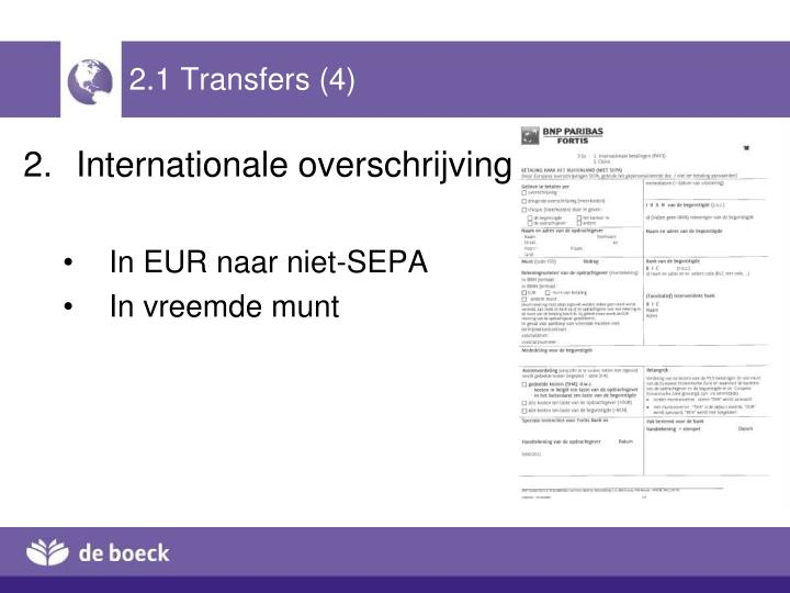 2.1 Transfers (4)