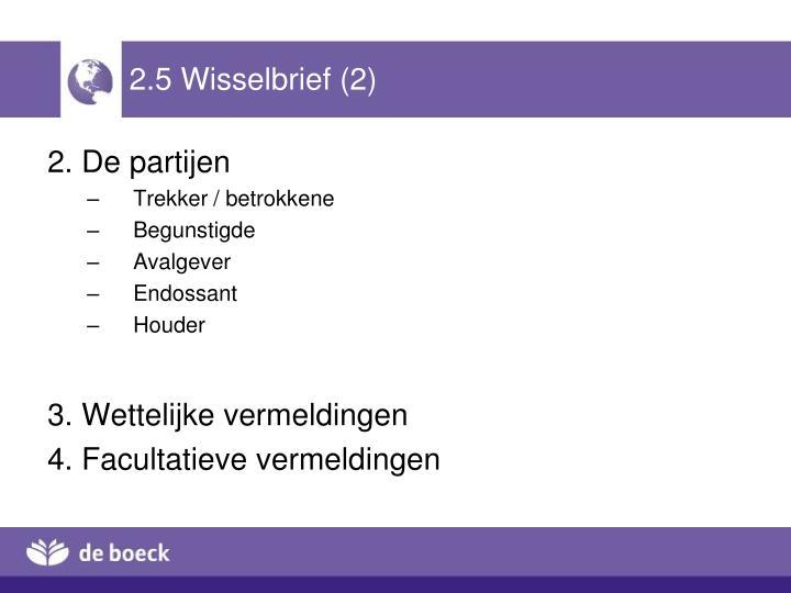 2.5 Wisselbrief (2)