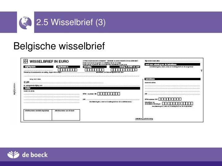 2.5 Wisselbrief (3)