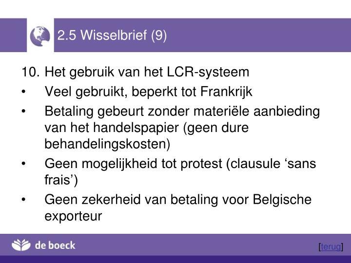 2.5 Wisselbrief (9)
