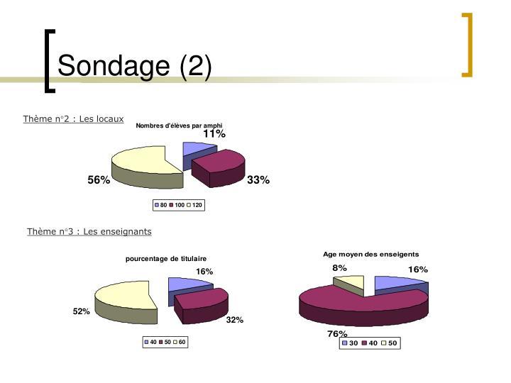Sondage (2)