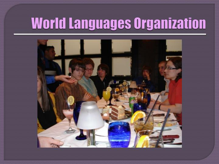World Languages Organization