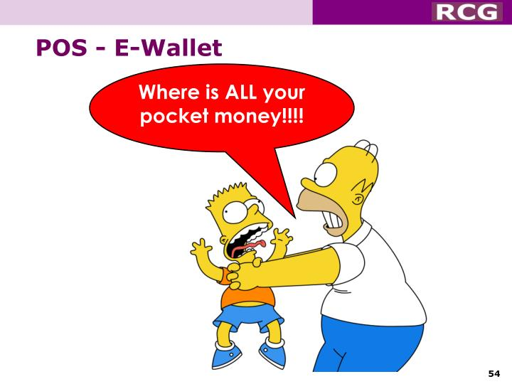 Where is ALL your pocket money!!!!