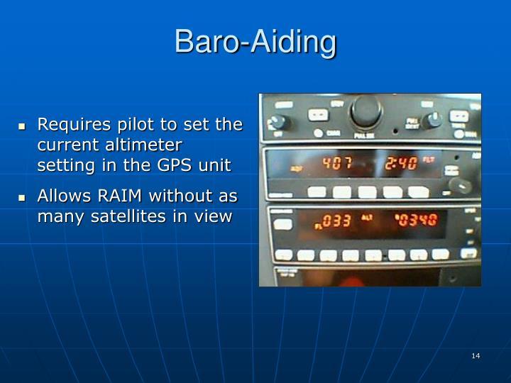 Baro-Aiding