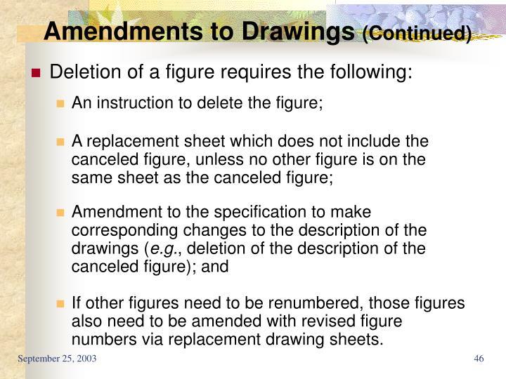 Amendments to Drawings