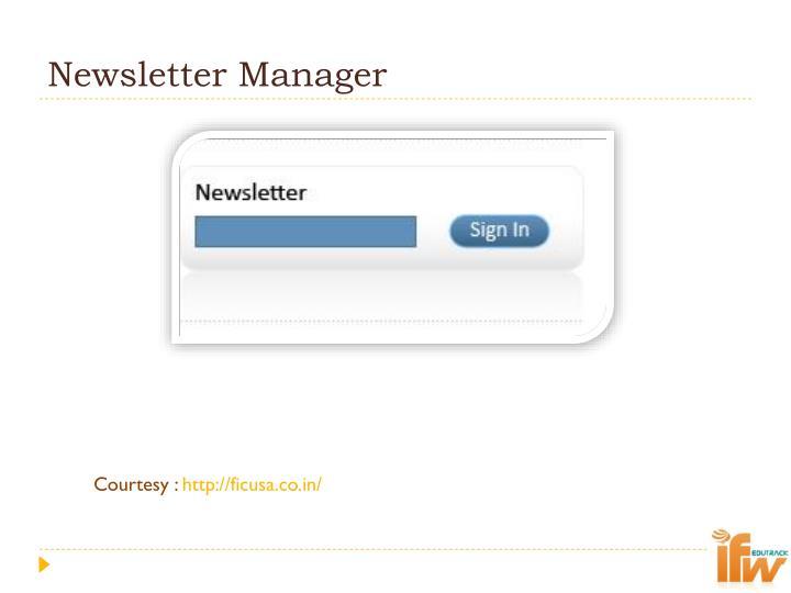 Newsletter Manager