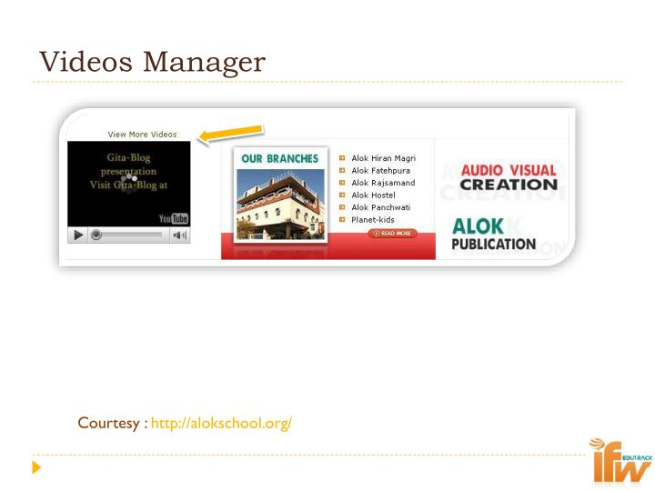 Videos Manager