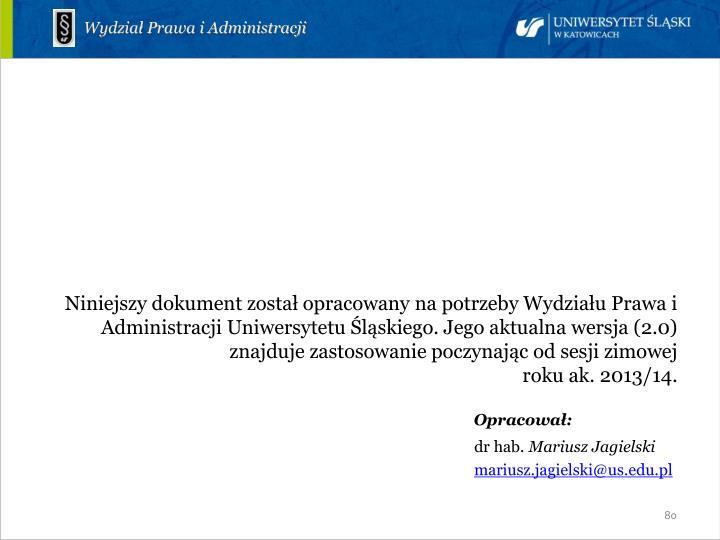 Wydział Prawa i Administracji