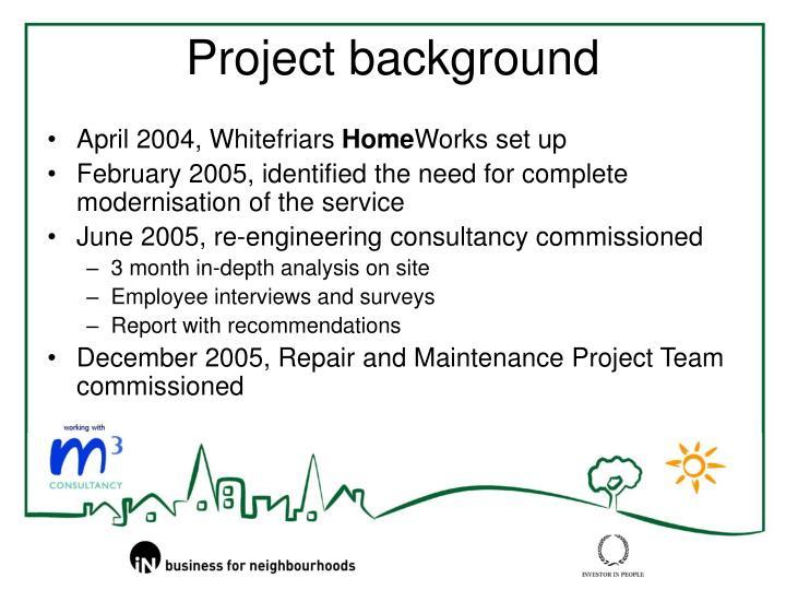April 2004, Whitefriars