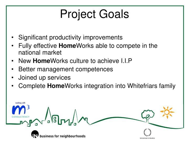Significant productivity improvements