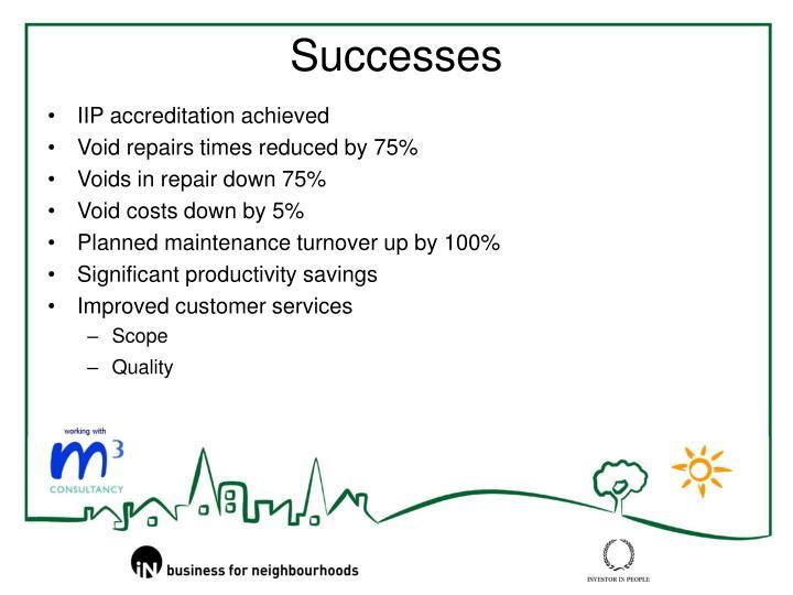 IIP accreditation achieved