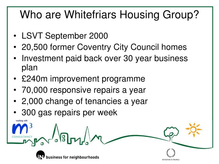 Who are whitefriars housing group