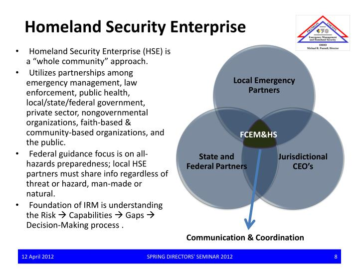 Homeland Security Enterprise