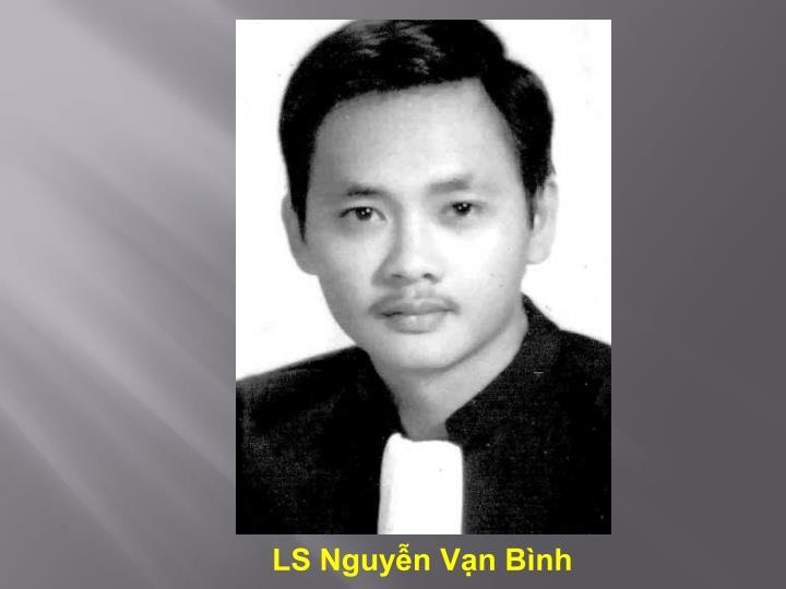 LS Nguyễn Vạn Bình