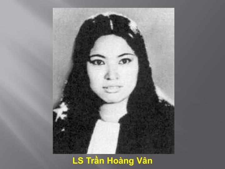 LS Trần Hoàng Vân