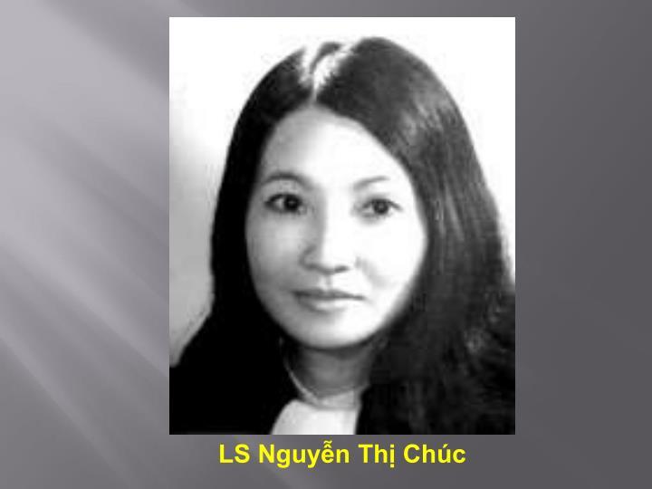 LS Nguyễn Thị Chúc