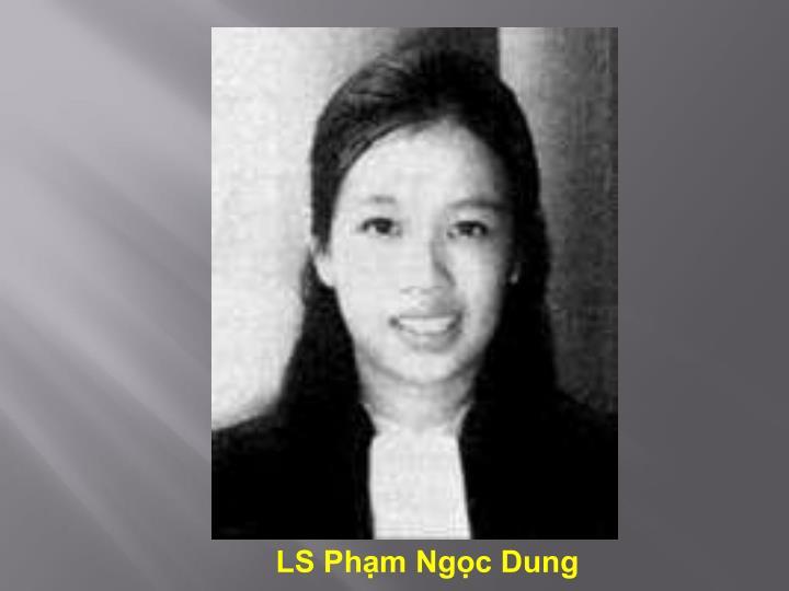 LS Phạm Ngọc Dung