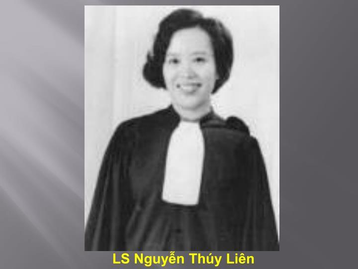 LS Nguyễn Thúy Liên