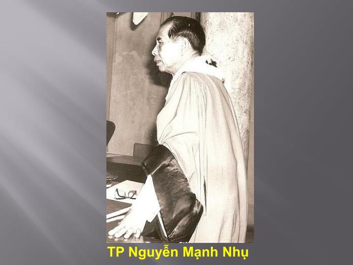 TP Nguyễn Mạnh Nhụ